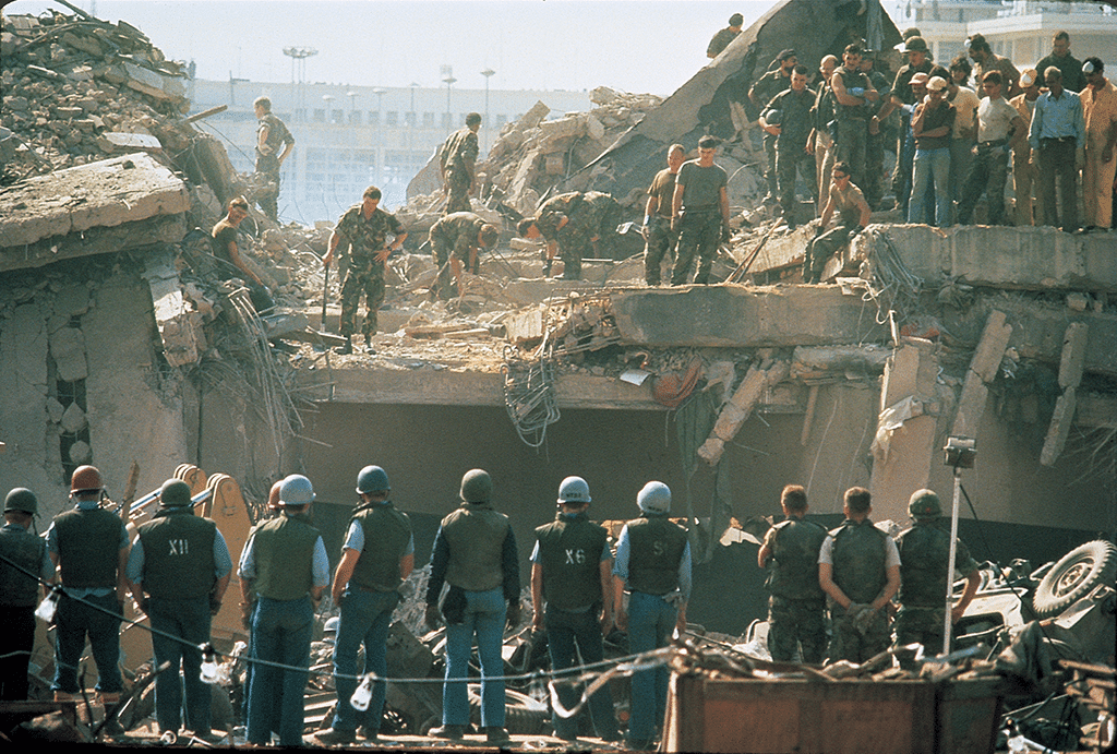 Beirut Bombing Image One