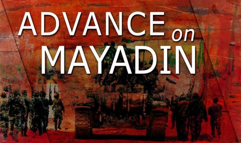 Syria War Report – October 5, 2017: Syrian Army Strikes ISIS Near Mayadin City