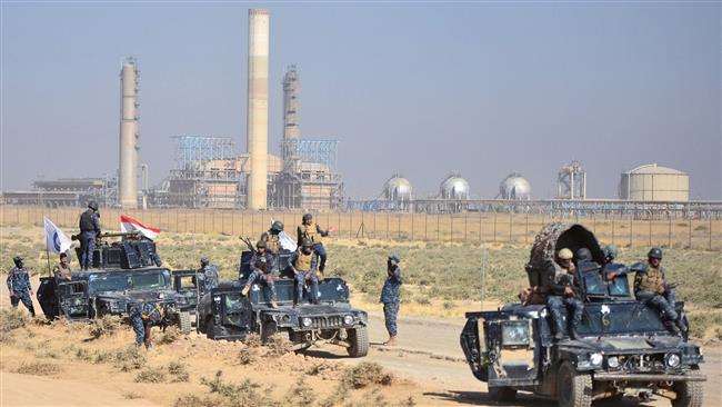 Iraqi forces retake military base, strategic sites in Kirkuk