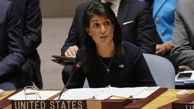 Nikki Haley – US to stay in Iran nuclear deal