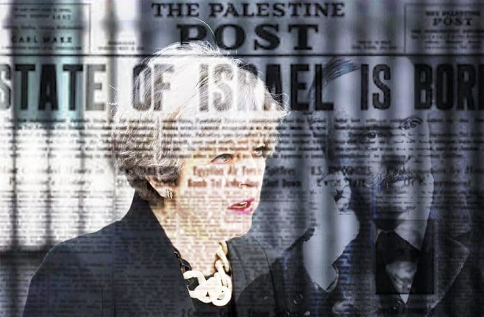 the effects of the balfour declaration on the creation of the state of israel Britain must atone for the balfour declaration a month after the balfour declaration the occasion on which israel celebrates its creation as a state.