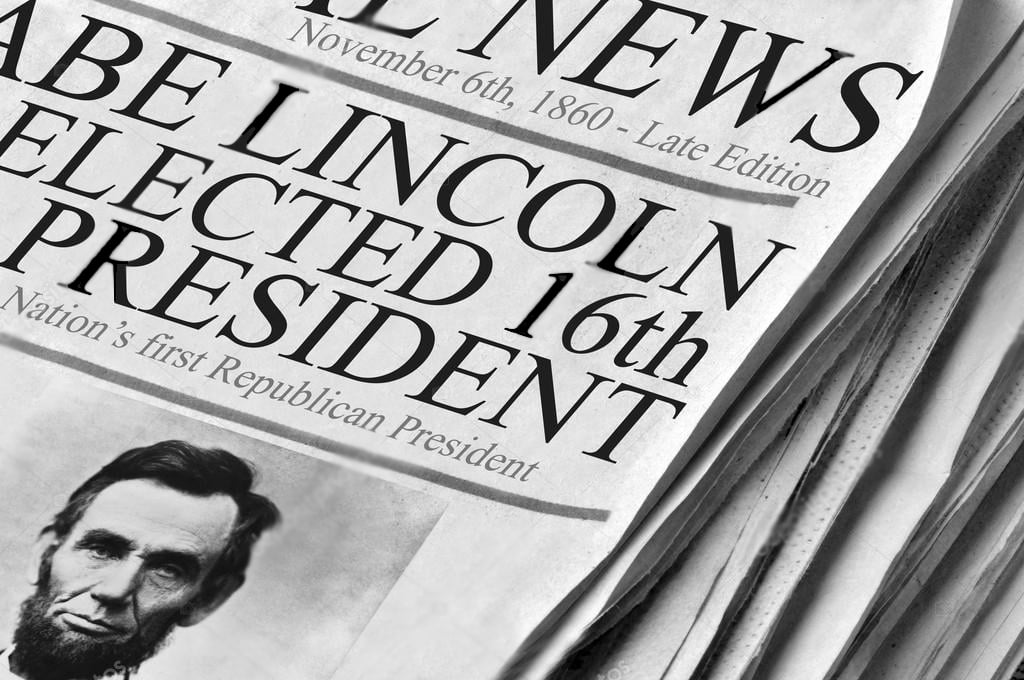 1860 On This Day In History Abraham Lincoln Elected 16th