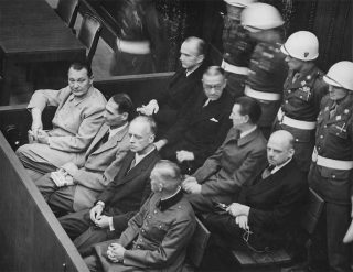 Twenty-four former Nazi officials were tried, and when it was all over, one year later, half would be sentenced to death by hanging.