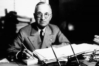On this 30th day of November in 1950, President Harry S. Truman announces during a press conference that he is prepared to authorize the use of atomic weapons in order to achieve peace in Korea.