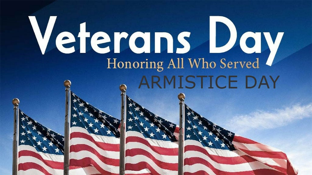 Happy Veterans Day or should we still call it Armistice ...