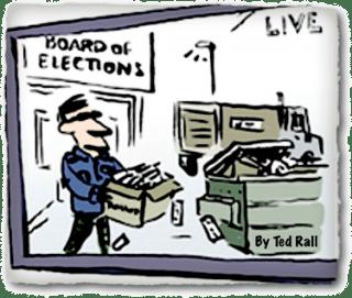 Ballot-Stuffing Ted Rall