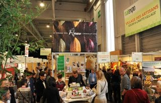 Three great exhibitions featuring bio products took place in Paris. NATEXO and