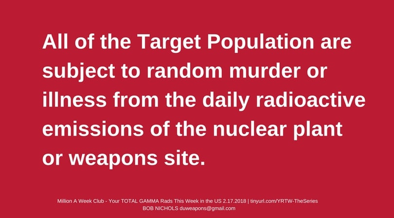Nukes are great for Random Murder of the Target Population.