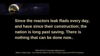 Reactors all leak all the time.