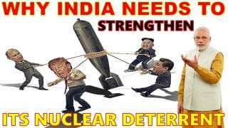 Exploring the Nuclear Race between India and China and it's possible implications.