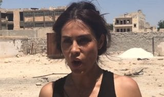 Carla Ortiz and the White Helmet's Lair in Aleppo - Veterans Today   News – Military Foreign Affairs – VA
