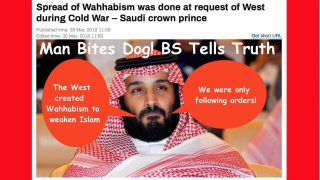 The Anglo-Zionist Empire created the Wahhabi movement in general, and the terrorist wing in particular, for strategic reasons.