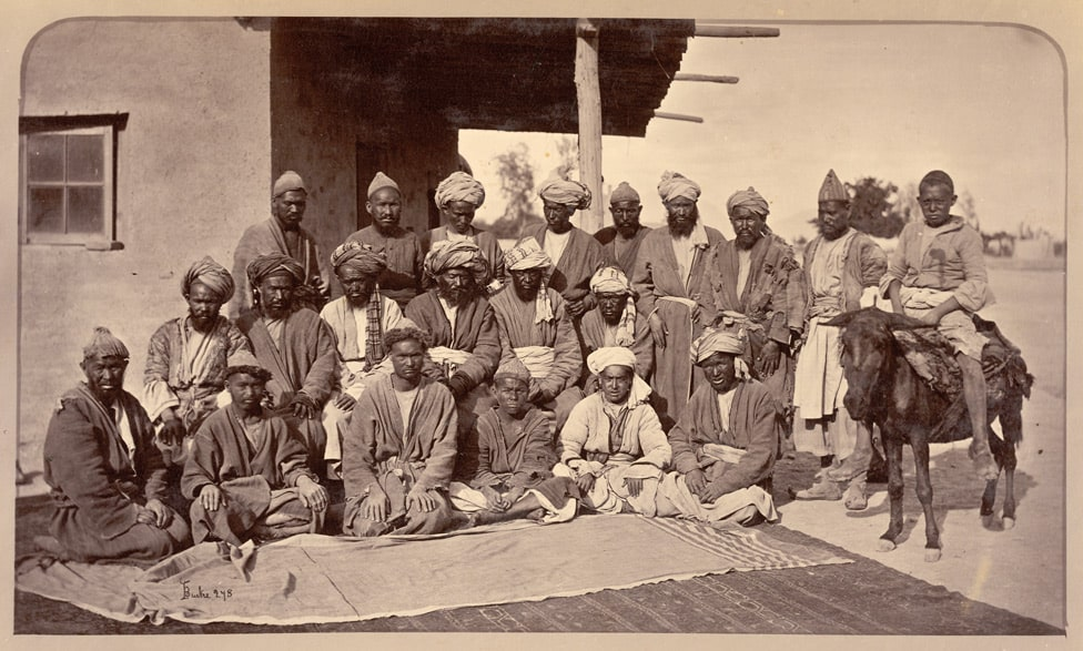 This image has an empty alt attribute; its file name is Hazaras_of_Afghanistan_in_1879-80.jpg