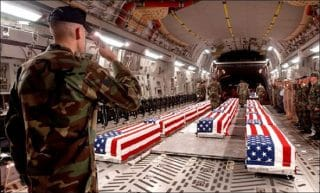 Americans in US military have been dying, not in wars fought for America, but for a foreign nation