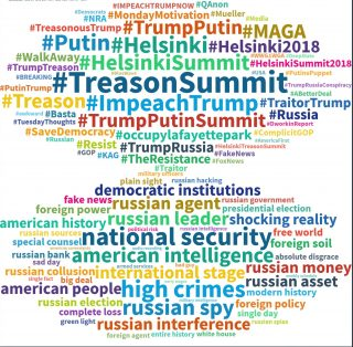 President Donald Trump's meeting with Russian president, Vladimir Putin and his failure to condemn Russian meddling in the US election has generated significant sentiment on social media - with 8.1 million mentions in the past 24-hours with public sent...