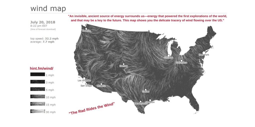 YRTW 27 WIND MAP - THE RAD RIDES THE WIND
