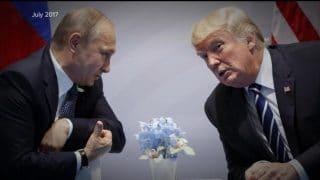 "Putin defends Trump like an ""idiot son""."