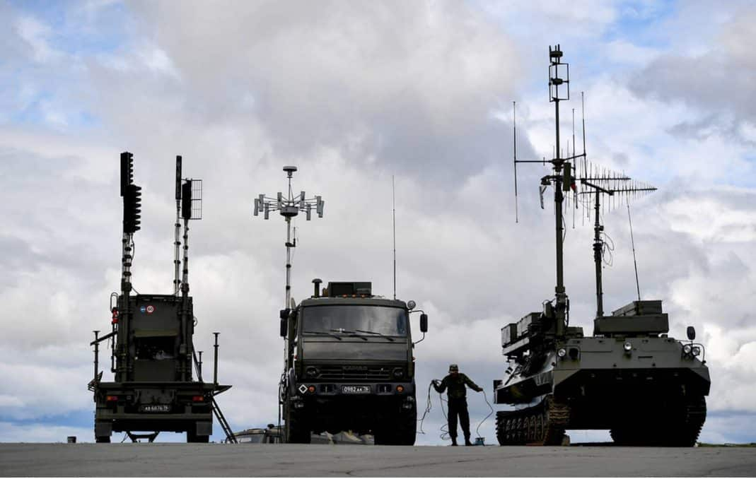 Image result for Israel vs russia electronic warfare capabilities
