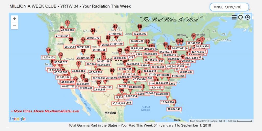 YRTW 34 - Million A Week Club - MAP