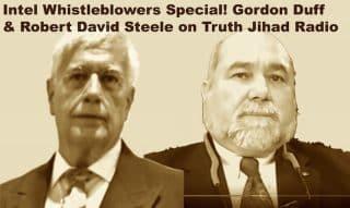 Intel legends spill secrets to Muslim conspiracy theorist!