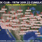 MILLION A WEEK CLUB – YRTW 2019.22 CONTINENT WIDE RADIATION – FIND YOUR CITY OR ONE CLOSE TO YOU