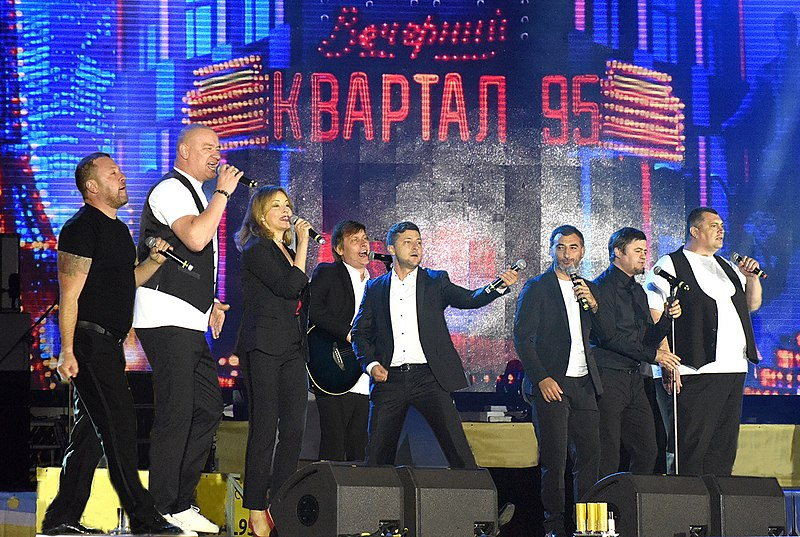 Zelensky - from te comedy stage to the political frying pan