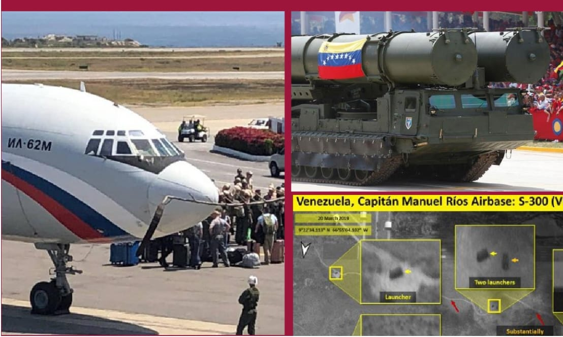 Venezuela Ready for War: Russian Troops and the S300 – Veterans