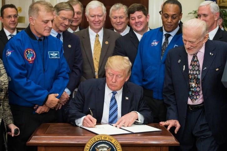 President Trump's Call for a Lunar-Mars Program as a Precursor to a