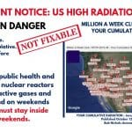 MILLION A WEEK CLUB - YRTW 38 - PERMANENT NOTICE - US HIGH RADIATION ALERT