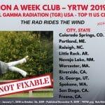 MILLION A WEEK CLUB – YRTW 2019-42 – THE RAD RIDES THE WIND