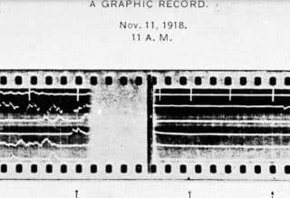 Sound Ranging Used to Record the Silencing of the Guns Ending WWI