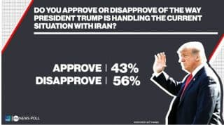 In a week dominated by increased tension with Iran and speculation over when impeachment articles would be delivered to the U.S. Senate, a majority of Americans said they disapprove of President Trump's handling of the situation with Iran and fee...