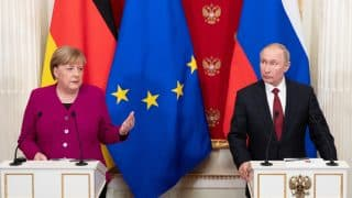 "Both Merkel and Putin have obviously rejected Netanyahu's risible proposal by agreeing that the Iran nuclear deal stands! Merkel declared that ""everything must be done to keep the JCPOA going."""
