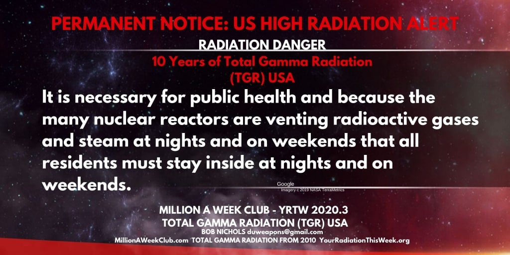 HIGH RADIATION ALERT 1