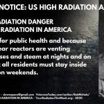PERMANENT NOTICE - US RADIATION ALERT