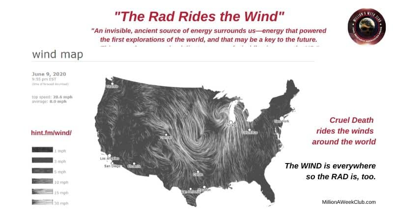 The Rad Moves with the wind
