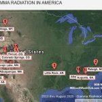 TOP 25 US CITIES - GAMMA RADIATION IN AMERICA 2020-11