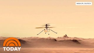 Ingenuity Completes First Flight On Another Planet